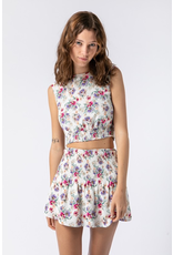 Tops 66 May Day Floral Open Back Top