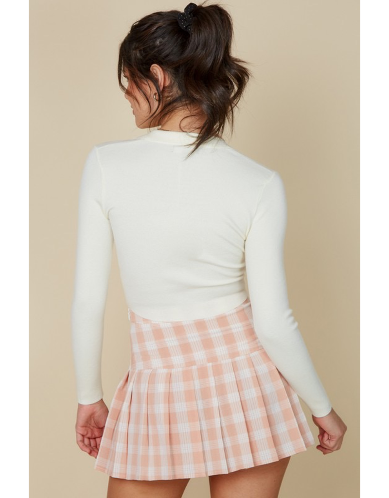 Skirts 62 Play It Again Pink Plaid Tennis Skirt