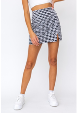 Skirts 62 Gingham Girl Black White Skirt