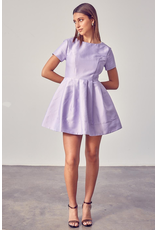 Dresses 22 Party On Dress (Available In White and Lavender)