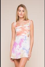 Dresses 22 Sprinkle Me In Happy Tie Dye Open Back Dress