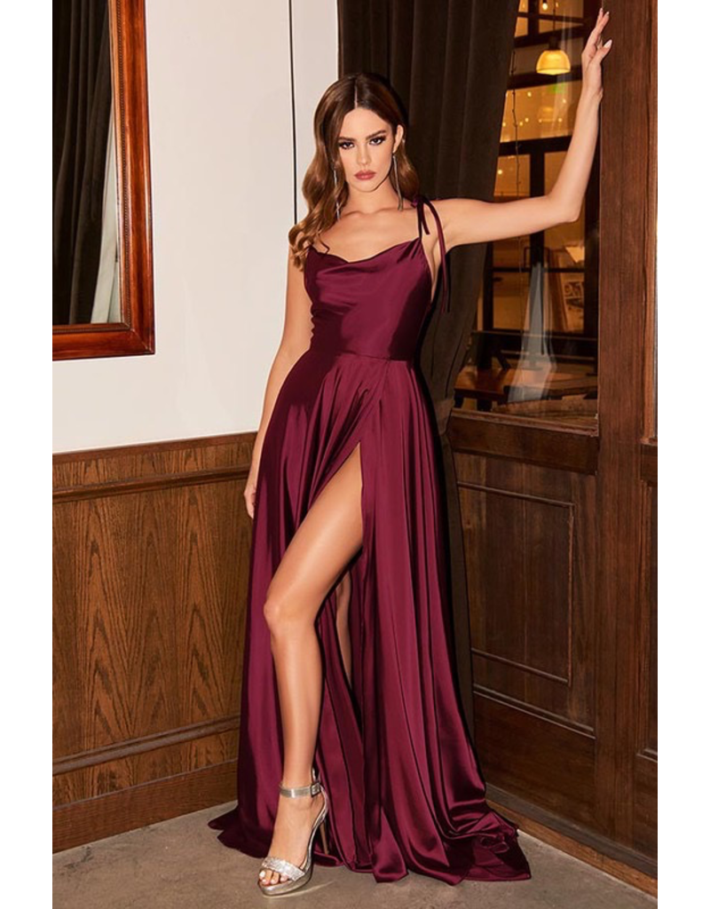 Dresses 22 Satin Dream Long Formal Dress (Available in 4 Colors)