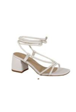 Shoes 54 Pretty Please Wrap White Sandals