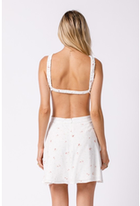 Dresses 22 In The Garden O Ring Open Back Floral Dress