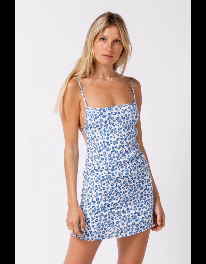 Dresses 22 Summer Picnic Floral Open Back Dress