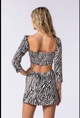 Dresses 22 Wild One Zebra Print Dress