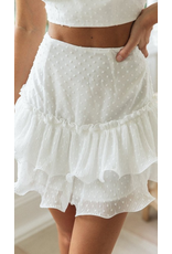 Skirts 62 The Summer Edit Swiss Dot Ruffle Skirt