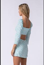 Dresses 22 All Summer Long Blue Floral Dress