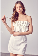 Dresses 22 Strapless Such a Doll Tie Back LWD