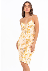 Dresses 22 Flutter By Butterfly Satin Midi Dress
