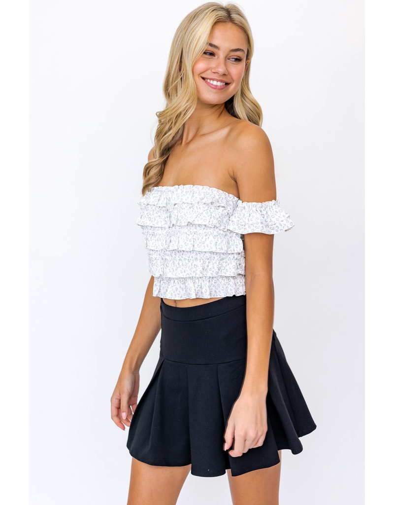 Tops 66 Wild One Layered Top