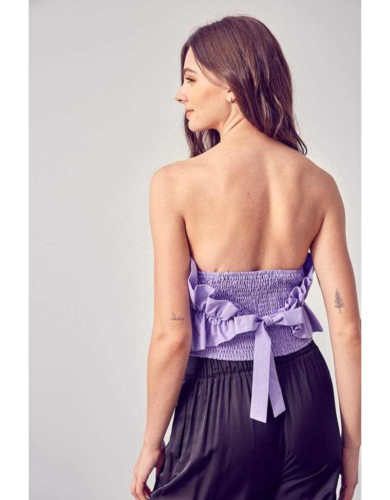 Tops 66 Sunset Cruise Ruffle Top (In 2 Colors)
