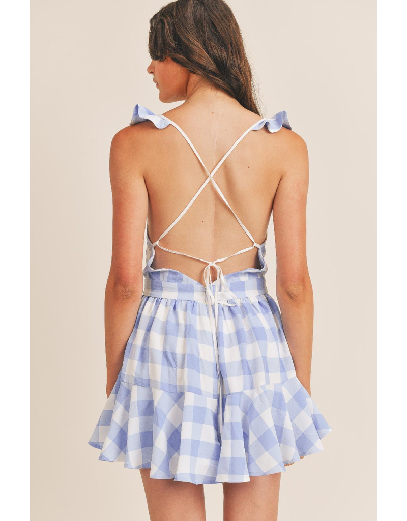 Dresses 22 Gingham Party Ruffle Dress