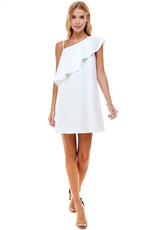 Dresses 22 Best Day Ever White One Shoulder Dress