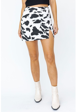 Default Cow Print Skirt
