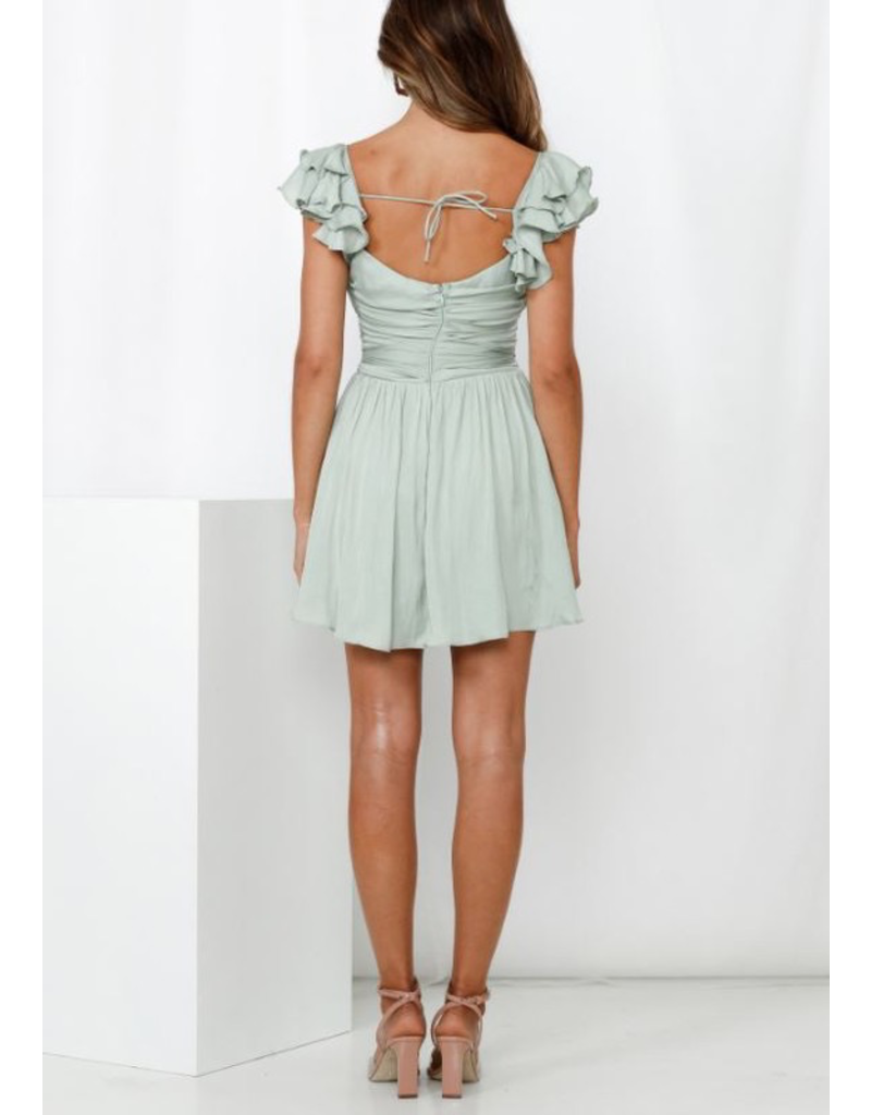 Dresses 22 Summer Soiree Soft Satin Dress (3 Colors Available)