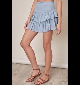 Skirts 62 Smile More Smocked Skort (2 Colors)