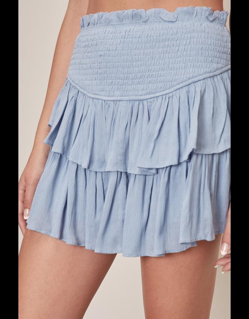 Skirts 62 Smile More Smocked Skort (5 Colors)
