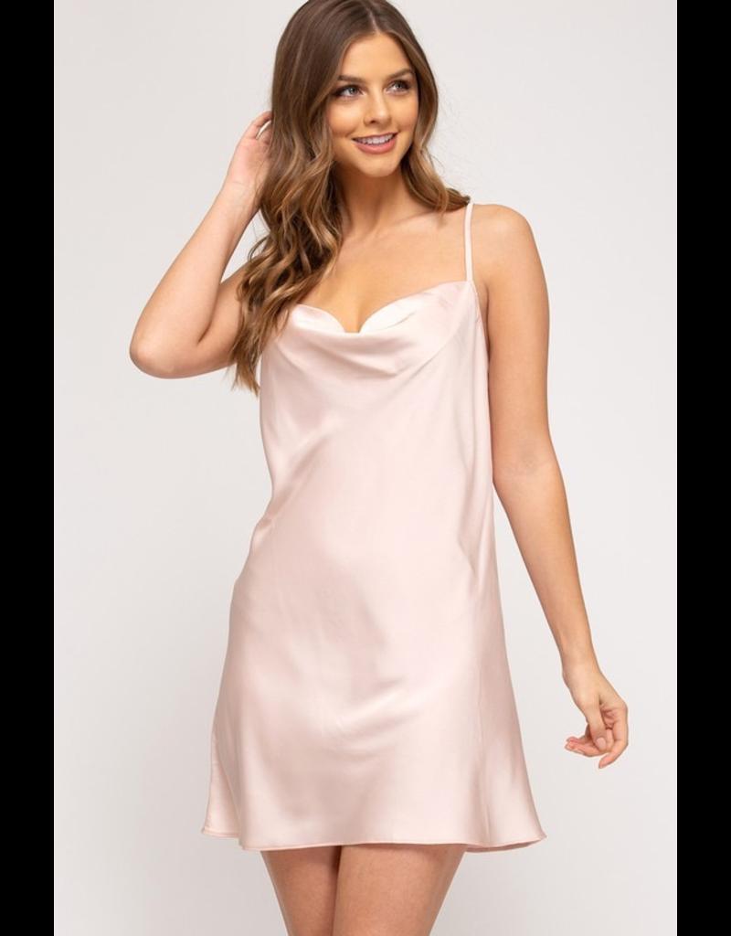Dresses 22 Satin Dreams Come True Dress (4 Colors Available)