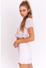 Skirts 62 Summer Soiree Lilac Ruffle Skirt