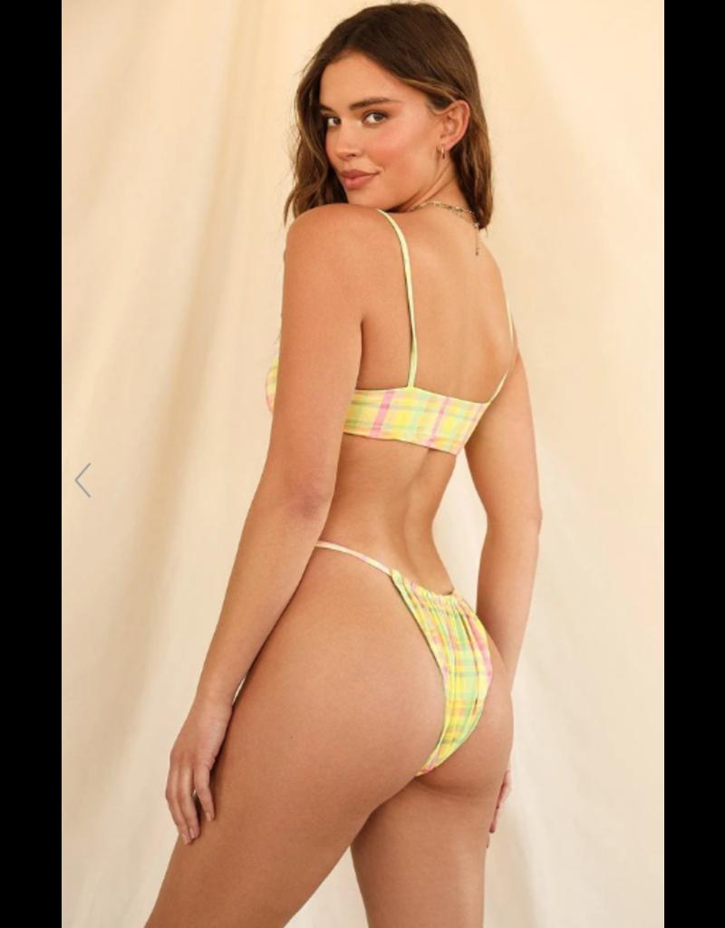 Swimsuits Pretty Summer Plaid Infinite Bottom