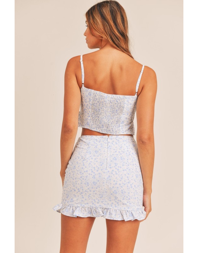 Skirts 62 Summer Blooms Two Piece Set(2 Colors)