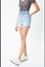 Shorts 58 KanCan High Rise Paper Bag Light Wash Denim Shorts