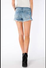 Shorts 58 KanCan Mid Rise Frayed Hem Boyfriend Shorts