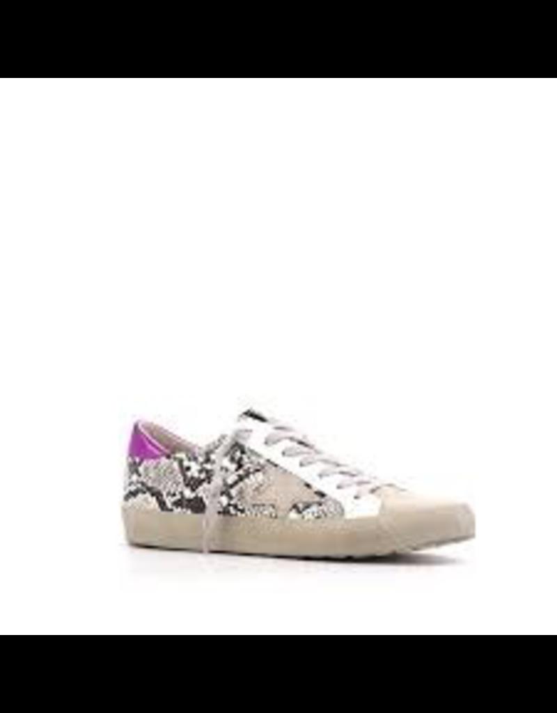 Shoes 54 Pink Pop Paloma Snake Star Sneaker