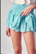 Skirts 62 Summer Fun Aqua Smock Skort