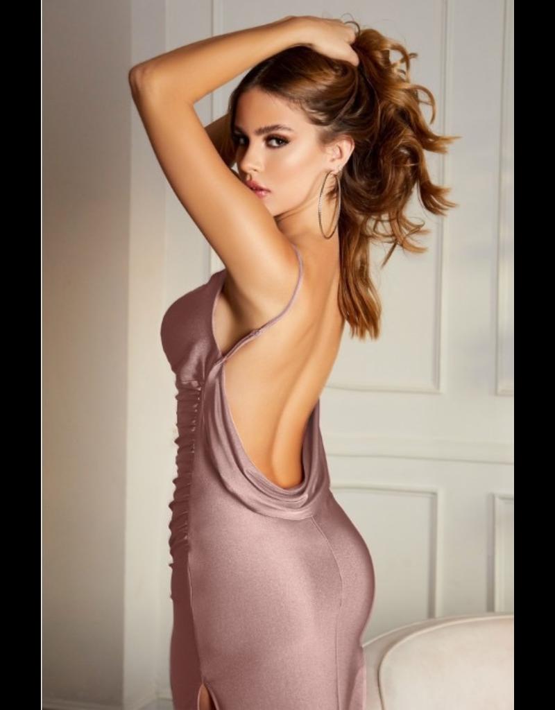 Dresses 22 Real Romance Low Back Formal Dress (3 Colors)