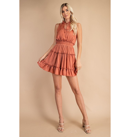 Dresses 22 Satin Dream Copper Dress