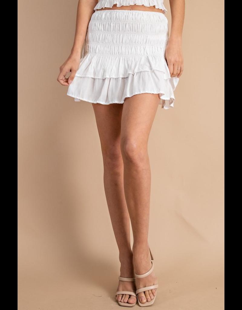 Skirts 62 Smock Me Ruffle Skirt (3 Colors)