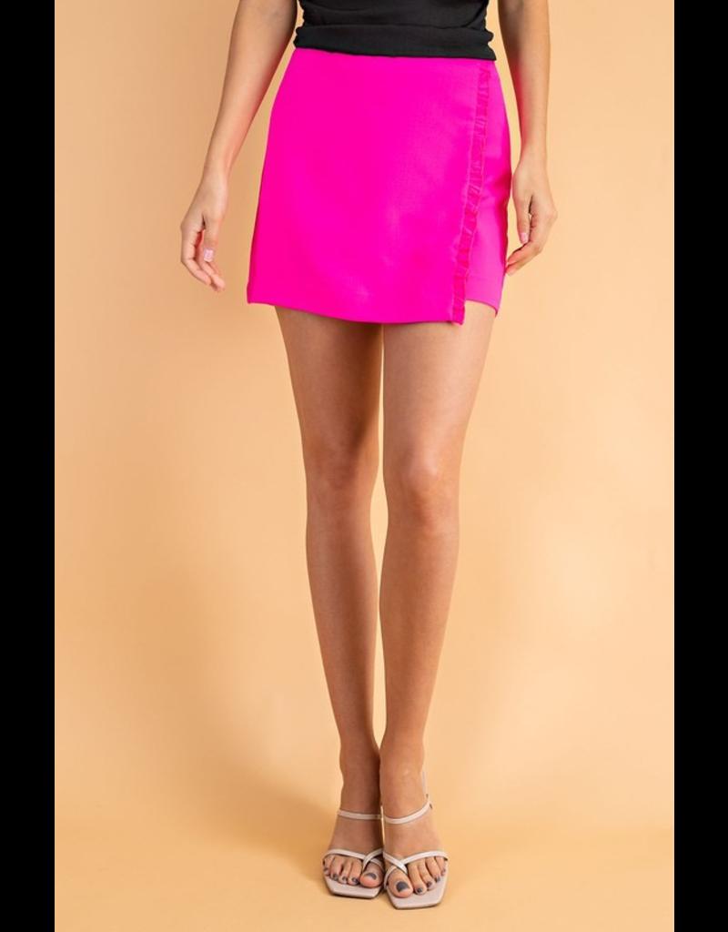 Skirts 62 Ruffle Party Black Skort