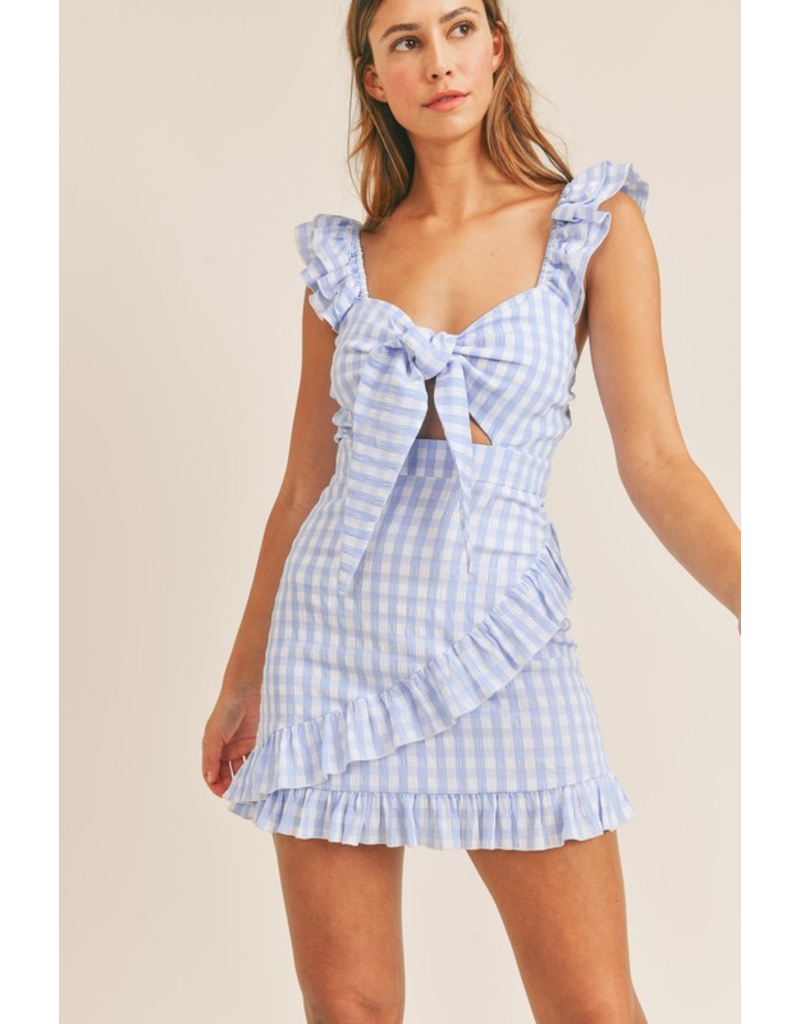 Dresses 22 Going Places Gingham Dress (2 Colors)