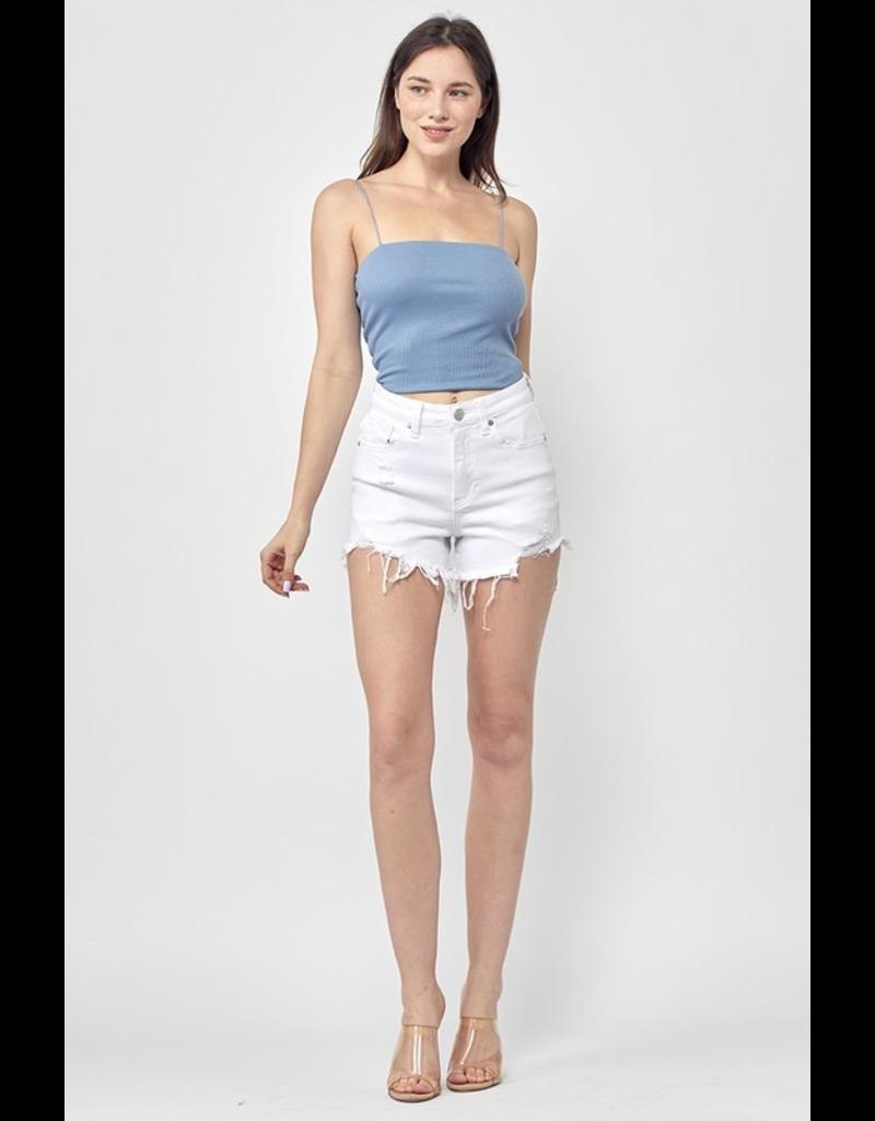 Shorts 58 Sweet Summer Time White Denim Shorts