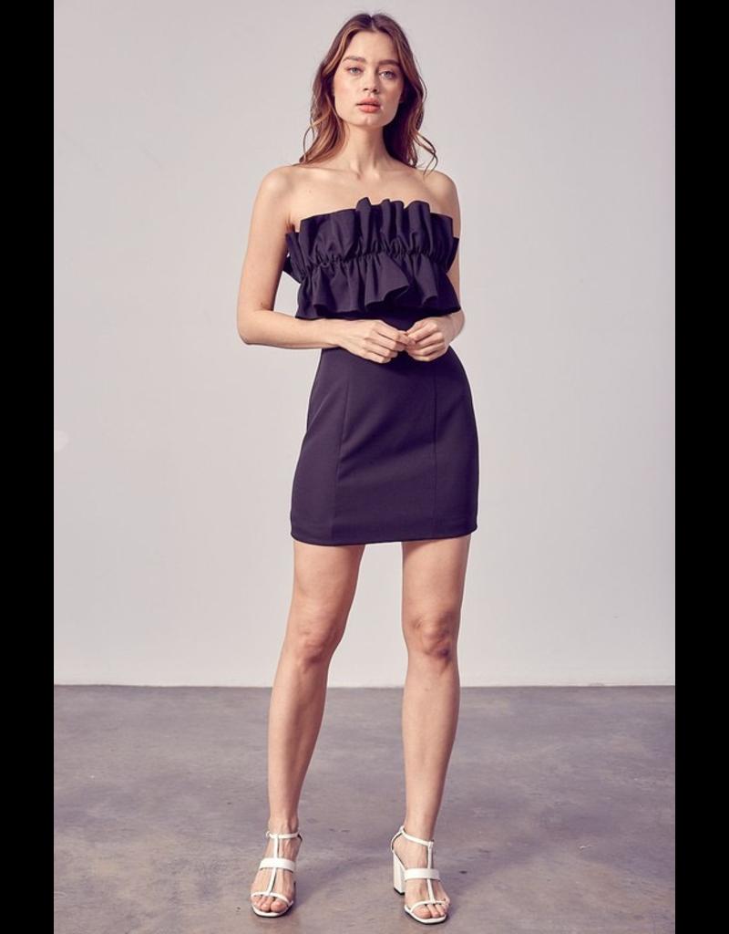 Dresses 22 Ruffle Romance Strapless LBD
