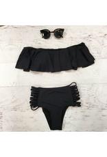 Swimsuits Isle Of Capri Black Swim Top