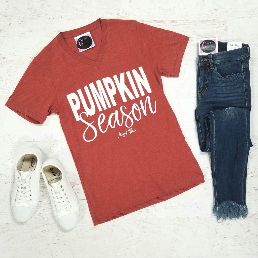 Tops 66 Pumpkin Season Fall T-Shirt