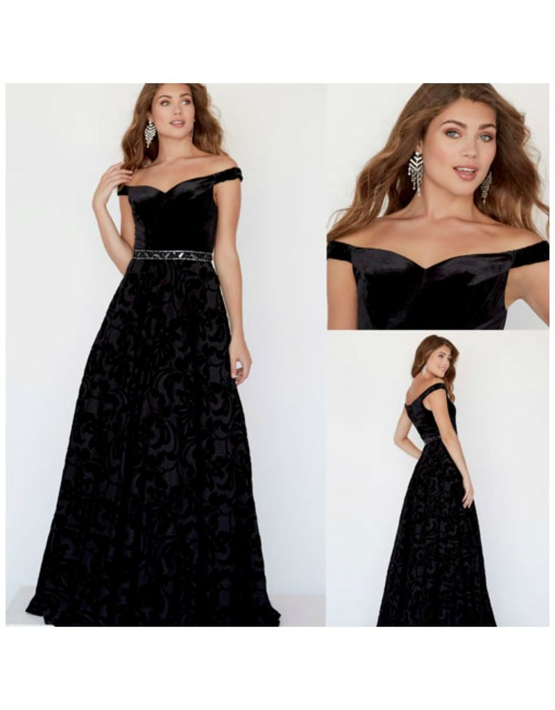 Formalwear Midnight Awakening Velvet Formal Dress