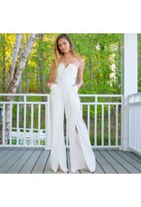 Jumpsuit Best Impressions White Jumpsuit