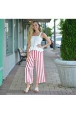 Pants 46 Fun Stripes Midi Pants