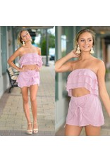Shorts 58 Lilac Dream Wrap & Tie Front Skort