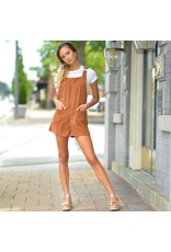 Rompers 48 Fall Forward Camel Corduroy Overalls