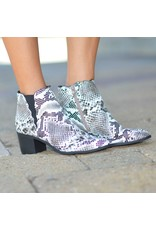 Shoes 54 Snakeskin Bootie