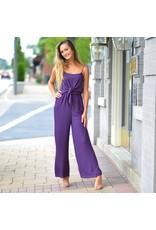 Jumpsuit Fall Feels Purple Midi Jumpsuit