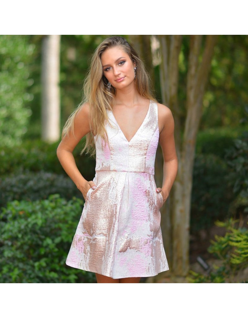 Formalwear Night To Remember Pink Short Formal Dress