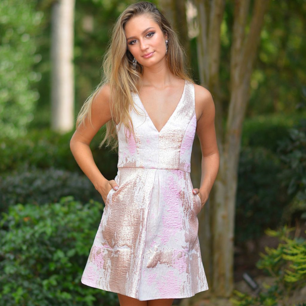 Formalwear Night To Remember Pink Short Formal Dress