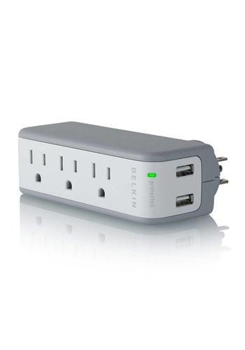 Belkin USB Charging 5-Outlets Mini Surge Suppressor
