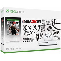 Microsoft Xbox One S 1TB Console NBA 2K19 Bundle